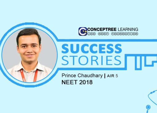 NEET 2018 Topper-AIR 5- Prince Chaudhary Interview