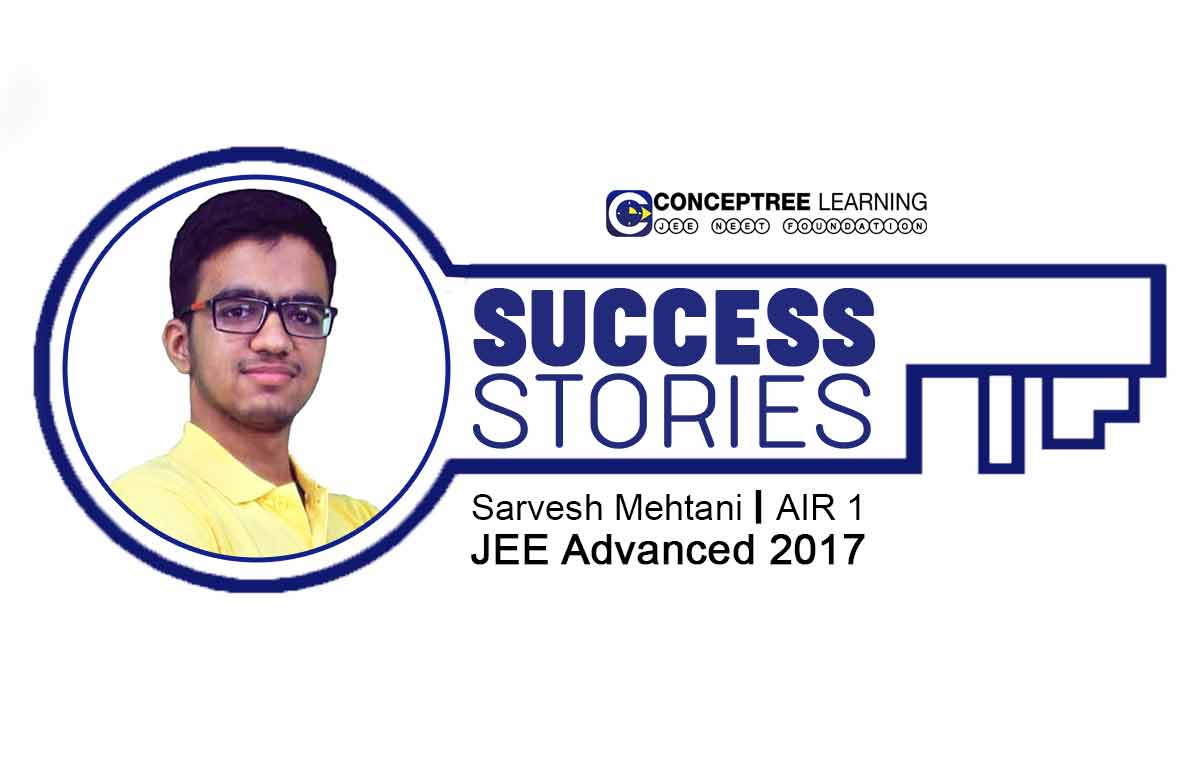 Sarvesh-Mehtani-JEE Topper-Interview-CONCEPTREE