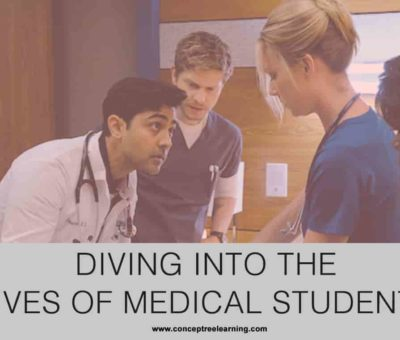 DIVING INTO THE LIVES OF MEDICAL STUDENTS!
