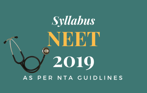 NEET 2019 Syllabus-NTA Guidelines-MCI-CONCEPTREE Learning