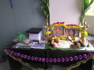 Pooja Celebrations at Conceptree Rajakilpakkam Branch  On 18th  October