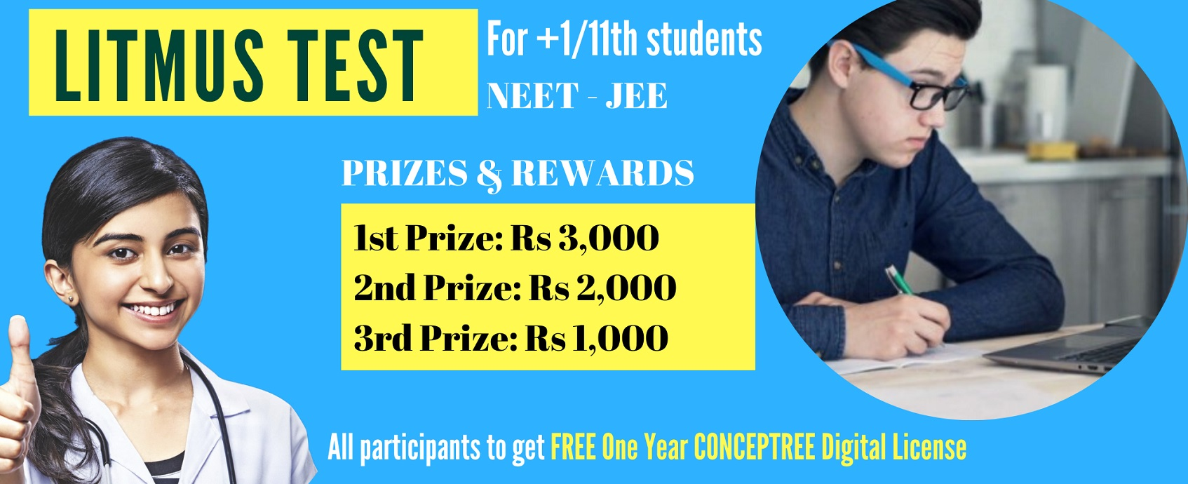 Litmus Test-2020 For NEET and JEE